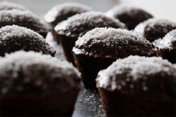 Muffins chocolat/noix de coco