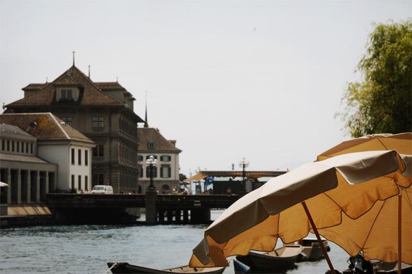 Zürich - Au bord de la Limmat
