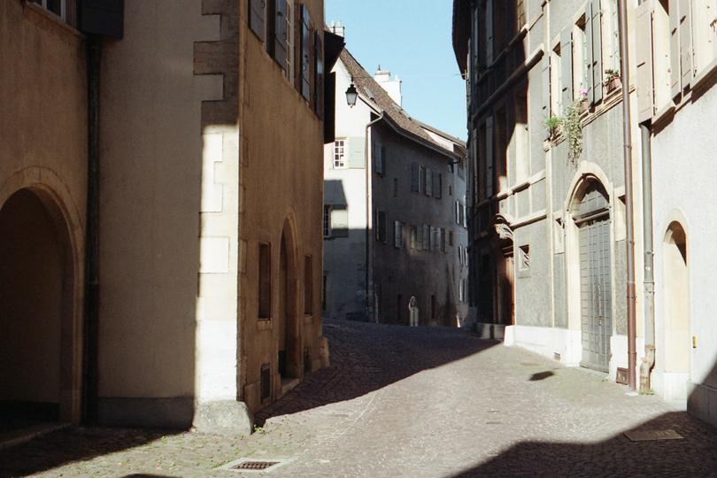 Neuchâtel, la vieille ville