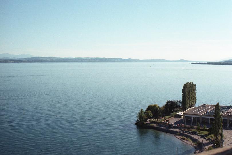 Neuchâtel, vue depuis la tour des prisons
