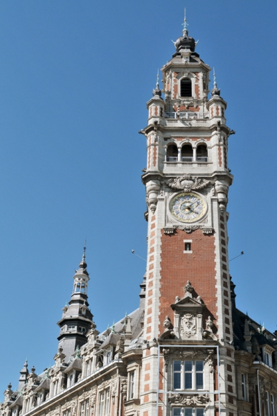 Lille, beffroi de la Chambre de Commerce