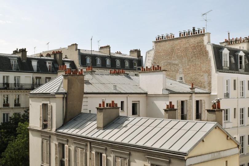 Les toits parisiens